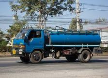 Privat vom Abwasser-Tankwagen Stockbild