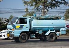 Privat vom Abwasser-Tankwagen Stockfoto