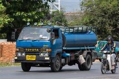 Privat vom Abwasser-Tankwagen Stockfotografie