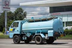 Privat vom Abwasser-Tankwagen Lizenzfreies Stockbild