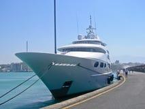 privat yacht Royaltyfri Fotografi