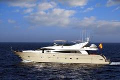 Privat yacht Royaltyfri Foto