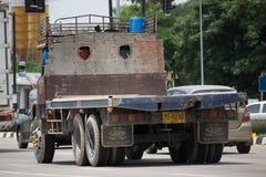 Privata gamla Isuzu Cargo Truck Arkivbilder
