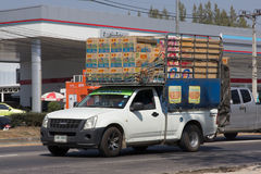 Privata Isuzu Dmax Pickup Truck Royaltyfria Bilder