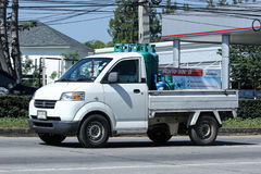 Privata Suzuki Carry Pick upp bilen Royaltyfri Foto