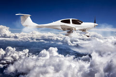 Private aircraft. Royalty Free Stock Photos