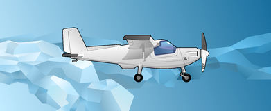 Private aircraft Stock Photo