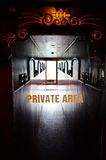 Private area on boat Royalty Free Stock Photography