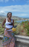 Private Ausflug Dame Lizenzfreies Stockbild