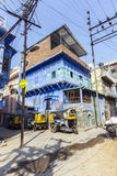 Private auto rickshaw three-weeler Royalty Free Stock Photo