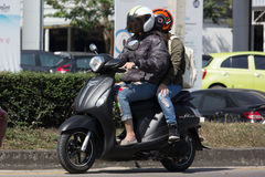 Private  Automatic Scooter Yamaha Filano Stock Images