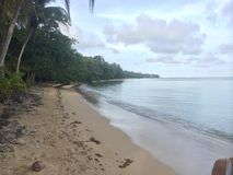 Private beach. Beautiful private beach Stock Image