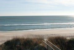 A private beach in North Carolina. A beautiful day on this private beach in North Carolina Royalty Free Stock Photos