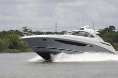 Private Bootfahrt herein in der Nassau-Bucht und im Kemah Texas lizenzfreies stockbild