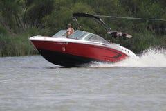 Private Bootfahrt herein in der Nassau-Bucht und im Kemah Texas stockfotografie