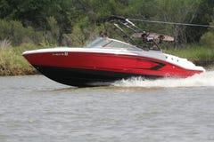 Private Bootfahrt herein in der Nassau-Bucht und im Kemah Texas lizenzfreies stockfoto