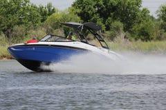 Private Bootfahrt herein in der Nassau-Bucht und im Kemah Texas stockbild
