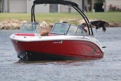 Private Bootfahrt herein in der Nassau-Bucht und im Kemah Texas lizenzfreie stockfotos