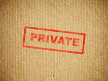Private box Stock Image