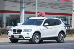 Private Car. Bmw X3 Royalty Free Stock Photo