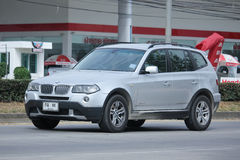 Private Car. Bmw X3 Stock Image