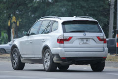 Private Car. Bmw X3 Royalty Free Stock Images