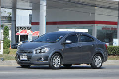 Private car, Chevrolet sonic Stock Photography