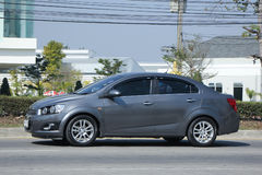 Private car, Chevrolet sonic Royalty Free Stock Photos