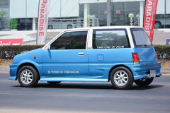 Private car, Daihatsu Mira. Royalty Free Stock Images