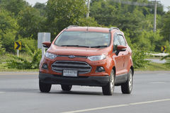 Private car, Ford Ecosport Royalty Free Stock Photo