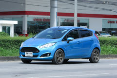 Private car, Ford Fiesta. Royalty Free Stock Image
