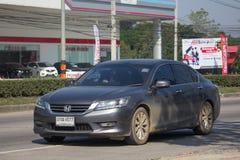 Private car Honda accord. CHIANG MAI, THAILAND -JANUARY 9 2018:  Private car Honda accord. On road no.1001 8 km from Chiangmai Business Area Stock Images