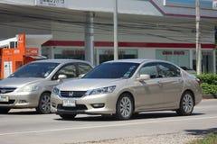 Private car Honda accord. Chiang mai, Thailand - October 7, 2017: Private car Honda accord. On road no.1001 8 km from Chiangmai Business Area Stock Image