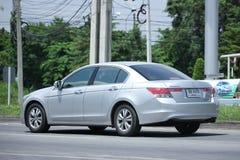 Private car, Honda accord. CHIANGMAI, THAILAND -AUGUST 10 2016: Private car, Honda accord. On road no.1001, 8 km from Chiangmai Business Area Royalty Free Stock Photo