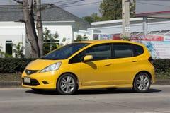 Private car, Honda Jazz. Stock Image