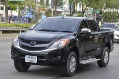 Private car Mazda BT-50 PRO Stock Photos
