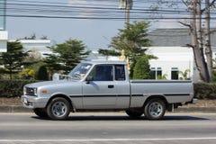 Private car Mazda Family mini Pick up truck. Stock Photo