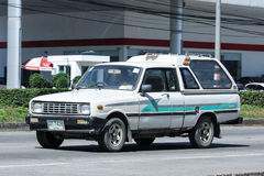 Private car Mazda Family mini Pick up truck Stock Photo