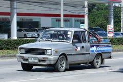 Private car, Mazda Family mini Pick up truck. Stock Photos