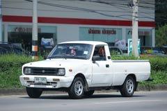 Private car, Mazda Family mini Pick up truck. Royalty Free Stock Photo