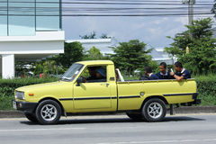 Private car, Mazda Family mini Pick up truck Royalty Free Stock Photos