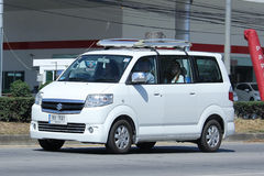 Private car, Mini Van of Suzuki APV. Royalty Free Stock Photos