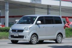 Private car, Mini Van of Suzuki APV. Royalty Free Stock Photography