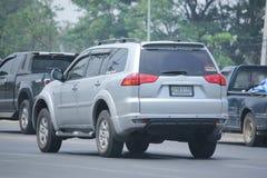 Private car of Mitsubishi Pajero Suv Car. Stock Photography