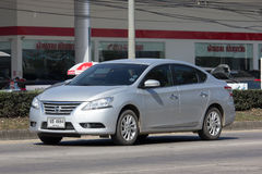 Private car, Nissan Sylphy. Stock Photography