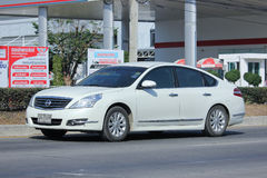 Private car, Nissan Teana. Royalty Free Stock Photography