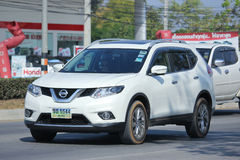 Private car, Nissan X trail. Stock Photo