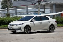 Private car, Toyota Corolla Altis. Eleventh generation Royalty Free Stock Image
