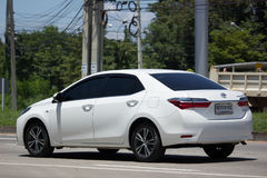 Private car, Toyota Corolla Altis. Eleventh generation Stock Photo