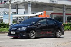 Private car, Toyota Corolla Altis. Eleventh generation Stock Image